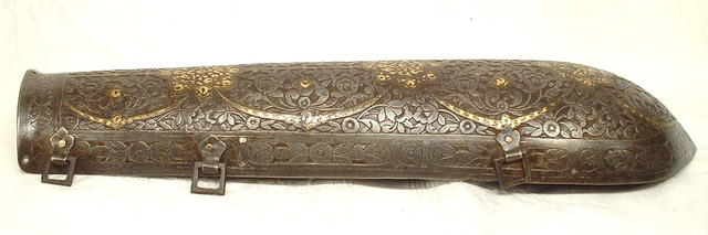 ANTIQUE INDO PERSIAN AMOR BAZU BAND, 18th cent.