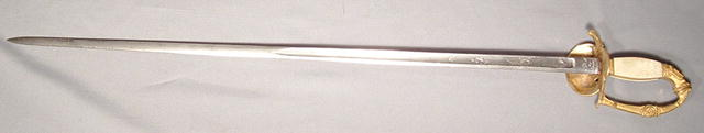 FRENCH NAPOLEONIC INFANTRY OFFICER SWORD 1810
