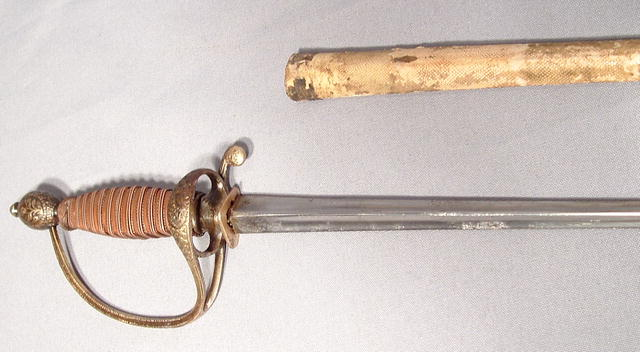 ANTIQUE SMALL SWORD EPEE