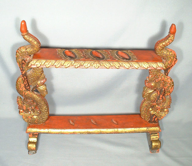 ANTIQUE INDONESIAN BALINESE KERIS KRIS STAND