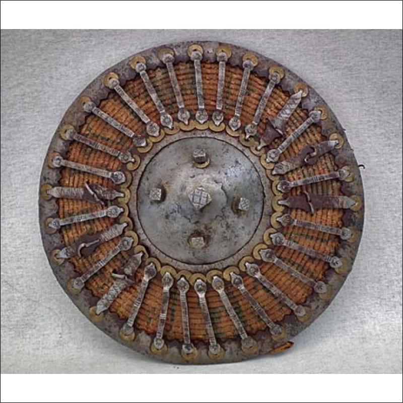 SOLD Antique 16th-18th century Turkish Ottoman Islamic Shield Kalkan