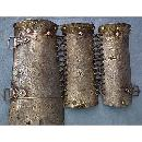 Very Rare Antique 15th-17th century Turkish Ottoman Armour Arm guard Bazuband