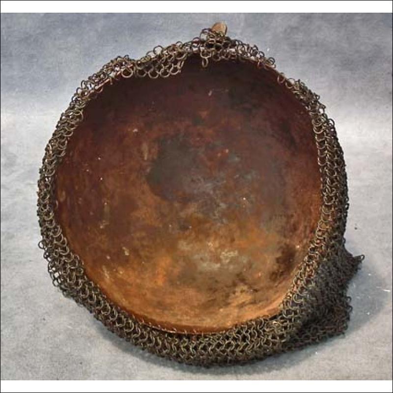 SOLD Antique Islamic Helmet Indo Persian Kulah Khud