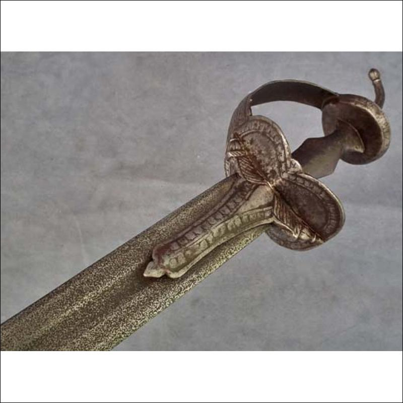 SOLD Antique Islamic Indian Muslim Mughal Sword SUKHEL- Khanda
