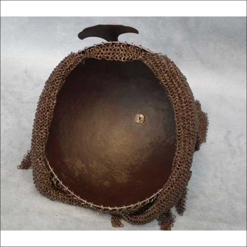 SOLD Antique Indo Persian-Mughal Islamic Helmet Kulah-Khud 18th century