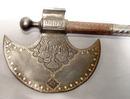 Antique Indo-Persian Islamic Saddle Axe,  18th