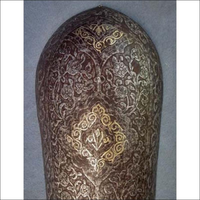 SOLD Antique Islamic Armour Bazuband Indo Persian Bazu band 18th c