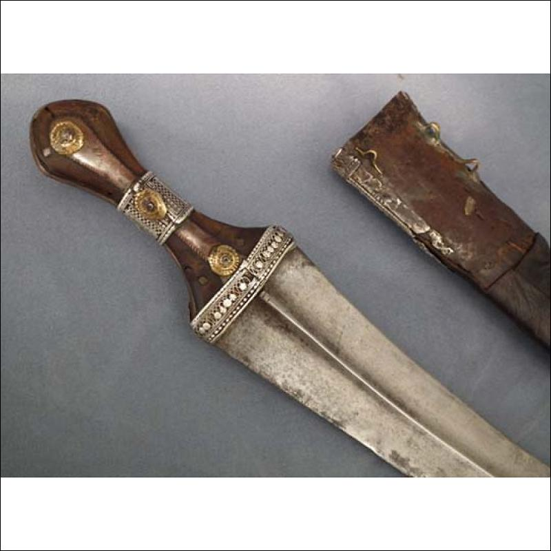 Antique Arabian Islamic Arab Jambiya DHARIA Wahabite Dagger