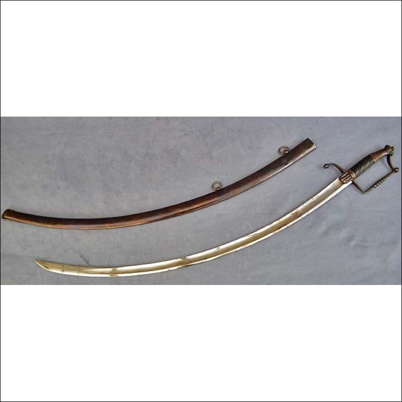 Antique18th century Polish cavalry sword Kosciuszkowka