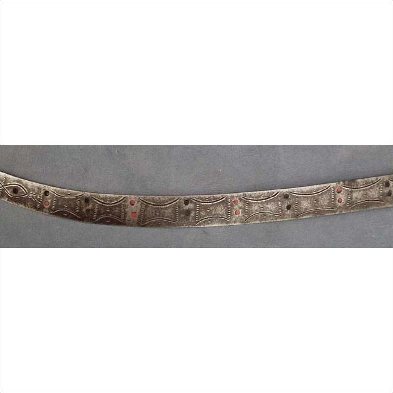Antique Berber Dagger North African Algerian Nimcha