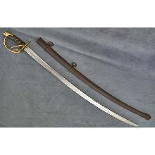 Antique American Civil War Sword US Cavalry Confederate Saber Wrist Breaker