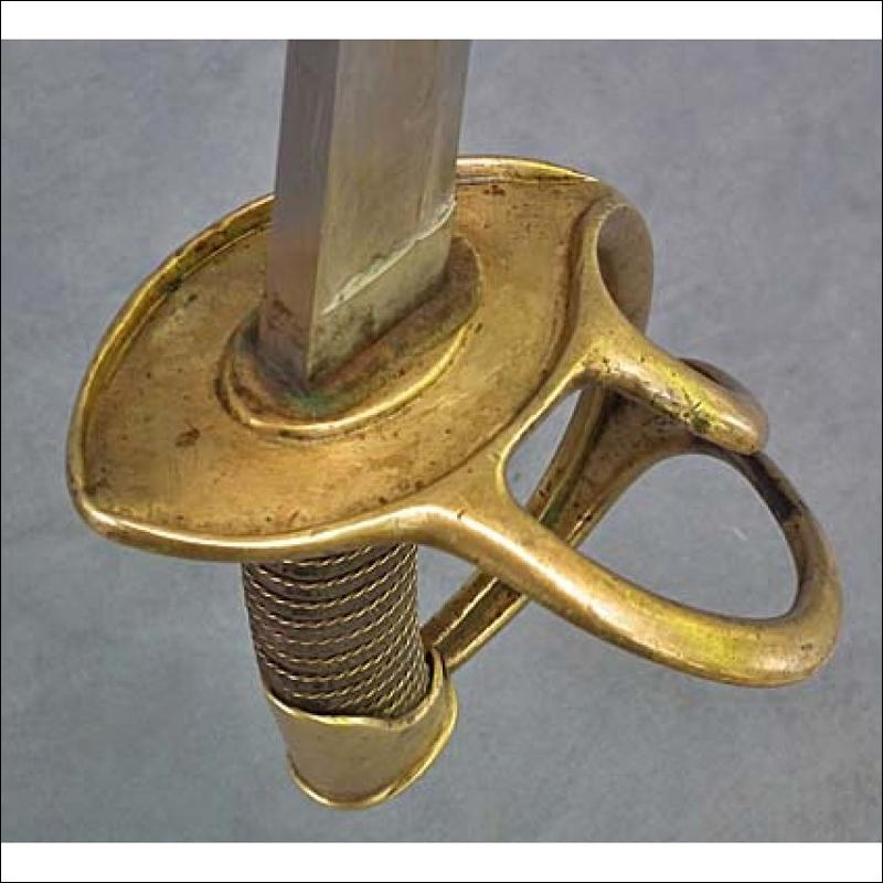 Antique American Civil War Sword US Cavalry Confederate Saber Wrist Breaker