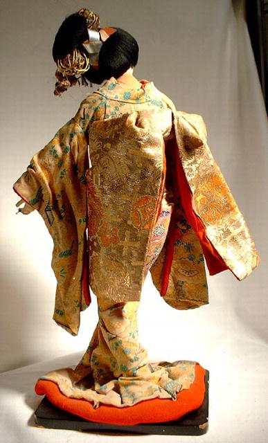 OLD JAPANESE DOLL GEISHA