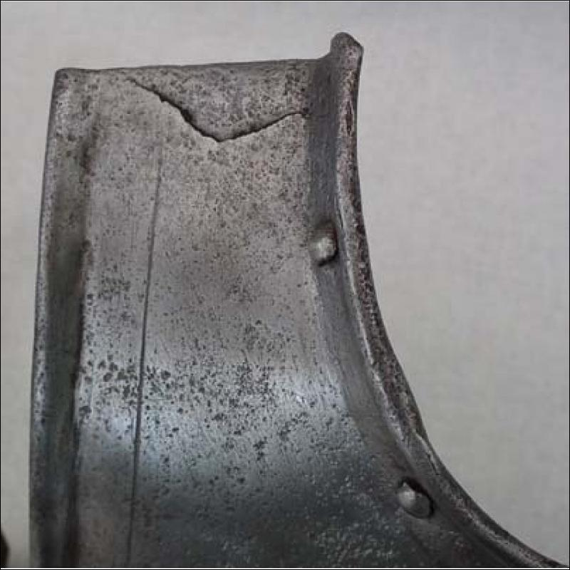 SOLD Antique 17th century European Breastplate Armour  Armor