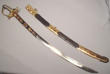 British Napoleonic Cavalry Officer Sword Sabre