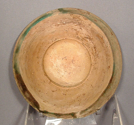 Antique Islamic Ceramic Bowl Raqqa, Syria, 13th