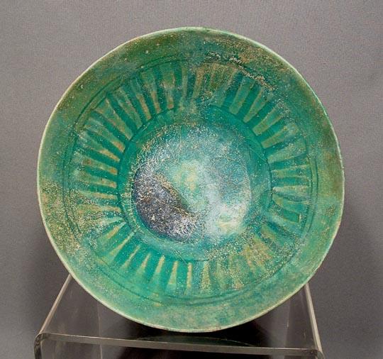 Antique Islamic Ceramic Bowl, Persia-Kashan,12c