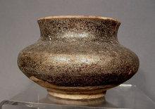 Antique Islamic Mameluke Ceramic Jar, 13th Century