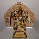 Antique Bronze Deity Shiva, 17th Century India