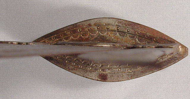 Antique African Trident Speer, 19th Century