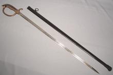 ANTIQUE GERMAN CUIRASSIER SWORD, BAVARIA 19TH