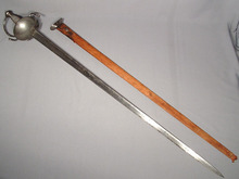 ANTIQUE SPANISH SWORD RAPIER, 17TH -18TH CENTURY