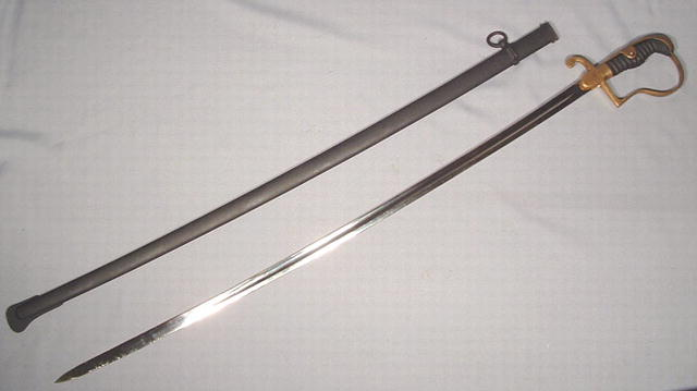 ANTIQUE GERMAN OFFICER'S SWORD, 19TH CENTURY