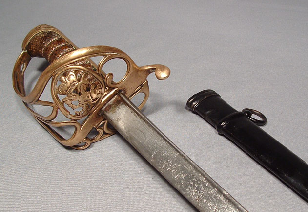 WILLIAM IV BRITISH OFFICER SWORD PATTERN 1822