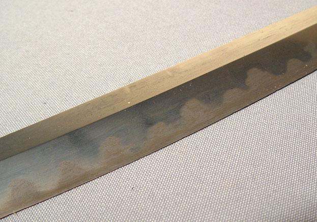 ANTIQUE JAPANESE SAMURAI SWORD WAKIZASHI WITH HORIMONO, C. 1500
