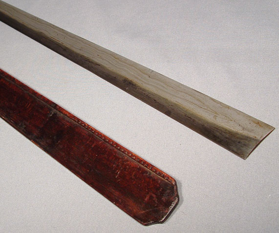 ANTIQUE KACHIN-BURMA SWORD DHA, 19TH CENTURY