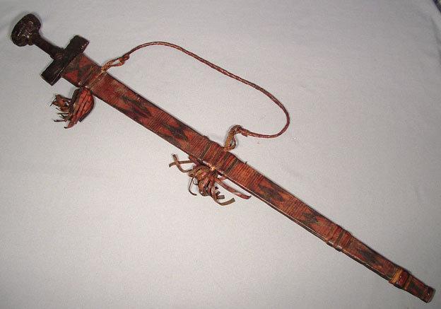 ANTIQUE ISLAMIC TAKOUBA SWORD, 19TH CENTURY
