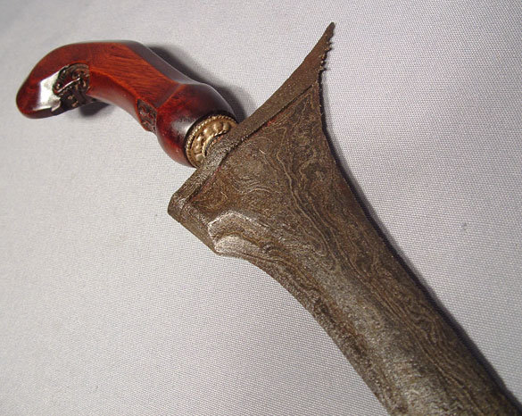 ANTIQUE KRIS- KERIS INDONESIAN SHORT SWORD, 19TH CENTURY
