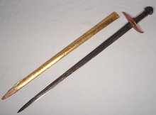 ANTIQUE TURKISH OTTOMAN SWORD HANJAR, 19TH CENTURY