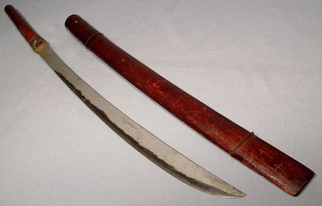ANTIQUE BURMESE SWORD DHA, 19TH CENTURY