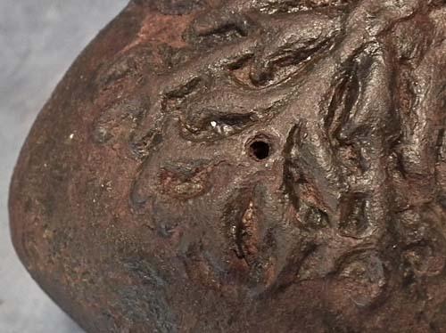 SOLD Antique Cannon European Iron Mortar Gun 17th century