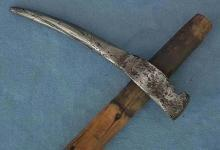 Authentic Antique 17th century Polish horseman's War Hammer Nadziak Hungarian Harci Csakany