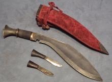 SOLD Antique Dagger kukri Nepalese Gurkha combat knife Khukuri