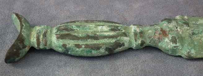 SOLD Ancient North Western Asiatic Bronze Sword Dagger 3RD-1ST millennium B.C.