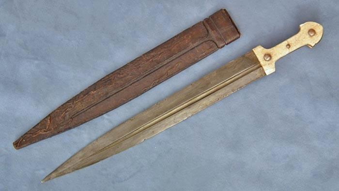 Antique Russian sword Cossack Caucasian Kindjal 19th century