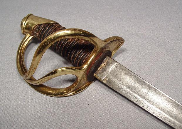 ANTIQUE AMERICAN CIVIL WAR CAVALRY SWORD