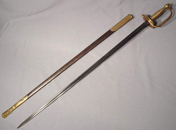 Antique American Sword from Civil War, dated 1863