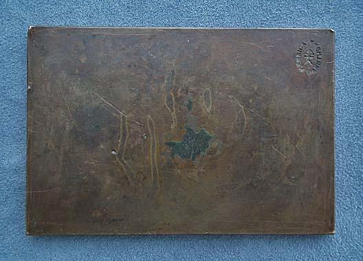 SOLD Antique 1926 bronze plaque Polish Stefan Zeromski by J.Aumiller Mennica Panstwowa Polish State Mint
