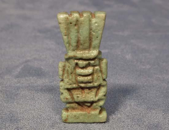 Ancient Egyptian God Bes Amulet Egypt 26th-30th Dynasty 664-332 BC