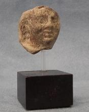 Ancient Greek 5th – 3rd Century BC Terracotta Head of a Goddess