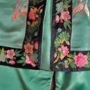 Antique early 20th century Chinese woman's Silk Costume Coat & Pants
