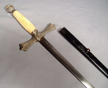 ANTIQUE AMERICAN CIVIL WAR MILITIA OFFICER'S SWORD