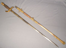 Antique American Masonic Lodge Sword, 19th Century