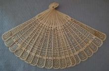 SOLD Antique Chinese Fan 19th century Qing Dynasty Brisé