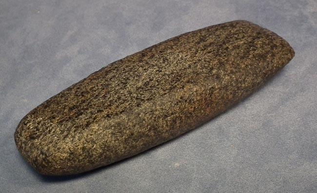 Antique Pre-Columbian Large Stone Celt axe Maya Post-Classic 900-1521 AD