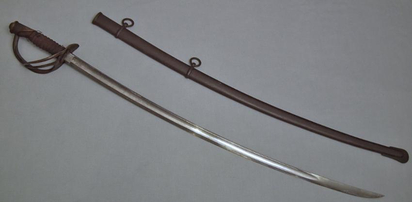 SOLD Antique American Civil War Cavalry Sword Sabre Mansfield Lamb 1864